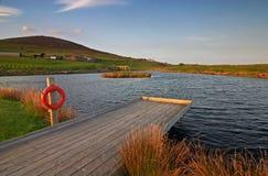Lago en País de Gales Imagen de archivo libre de regalías