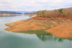 Lago en presa Fotografía de archivo