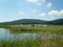 Lago en Rumania Imagenes de archivo