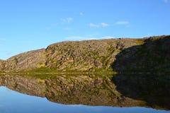 Lago en Rusia Imagenes de archivo
