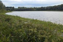 Lago en Siberia Foto de archivo