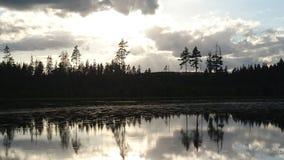 Lago en Suecia imágenes de archivo libres de regalías