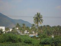 Lago en Tamil Nadu, una pequeña ciudad reservada Yercaud en la India meridional Fotos de archivo