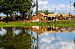 Lago en Uruguay Imagenes de archivo