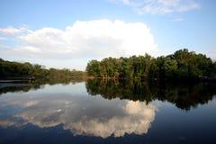 Lago en verano Foto de archivo
