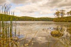 Lago encantado Fotografía de archivo