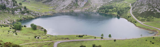 Lago Enol Royalty Free Stock Photography