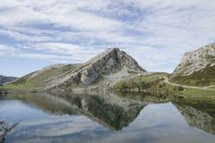 Lago-enol Lizenzfreie Stockfotografie
