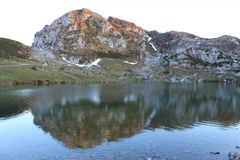 Lago Enol, Cangas de Onís, Spain Stock Image