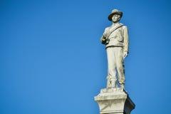 Lago Eola statue da guerra civil Imagens de Stock Royalty Free