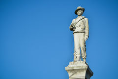 Lago Eola statue de la guerra civil imágenes de archivo libres de regalías