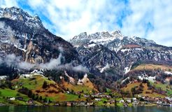 Lago Erbaspagna Fotografia Stock