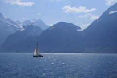 Lago Erbaspagna scenica Fotografie Stock