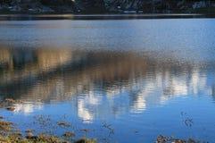 Lago Ercina, Cangas de OnAss,西班牙 免版税图库摄影
