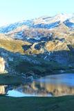 Lago Ercina, Cangas de OnÃs, Spanien Lizenzfreie Stockfotografie
