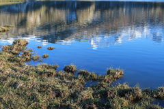Lago Ercina, Cangas de OnÃs, Spanien Lizenzfreies Stockbild
