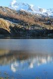 Lago Ercina, Cangas de Onís, Spain Royalty Free Stock Photography