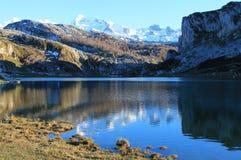 Lago Ercina, Cangas de Onís, Spain Stock Image