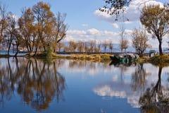 Lago Erhai Fotografia Stock