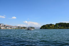 Lago Erhai Fotos de Stock Royalty Free
