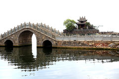 Lago Erhai a Dali City il Yunnan, porcellana Fotografia Stock Libera da Diritti