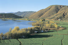 Lago Erhai na porcelana do sudoeste Imagem de Stock Royalty Free