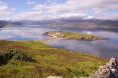 Lago Eriboll de A838, horizontal Imagen de archivo