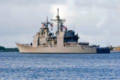 Lago Erie de USS Foto de Stock Royalty Free