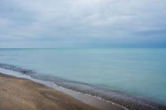 Lago Erie, Ontário Foto de Stock