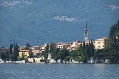 Lago escénico Como Varenna Fotografía de archivo libre de regalías