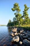 Lago escénico wilderness Foto de archivo libre de regalías