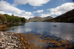Lago escocês fotografia de stock