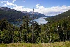 Lago Escondido, Patagonia Argentine Photos stock