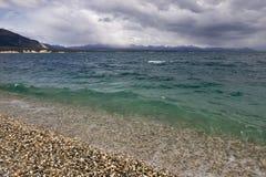 Lago Escondido, Patagonia Argentine Photographie stock