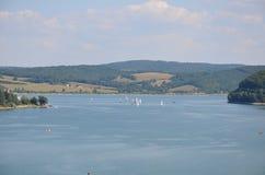 Lago Eslovaquia Domasa Imagenes de archivo