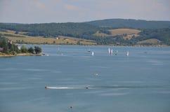 Lago Eslovaquia Domasa Foto de archivo