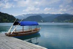 Lago esloveno Fotos de archivo libres de regalías