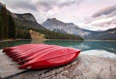Lago esmeralda Fotografía de archivo libre de regalías