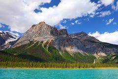 Lago esmeralda - Canadá Fotografia de Stock