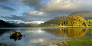 Lago Etive Fotos de archivo libres de regalías