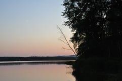 Lago evening Immagine Stock Libera da Diritti