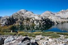 Lago evolution en John Muir Trail fotografía de archivo libre de regalías