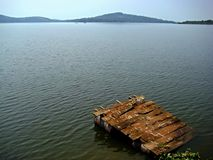 Lago extenso Foto de archivo libre de regalías