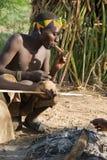 Boscimano di Hazabe Fotografia Stock Libera da Diritti