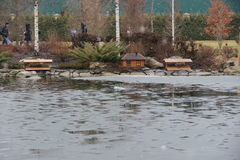 Lago fabuloso Fotografia de Stock Royalty Free
