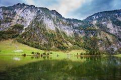 Lago famoso Konigssee Immagini Stock