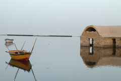 Lago Fayoum Fotografie Stock Libere da Diritti