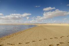 Lago Fayoum Fotografía de archivo