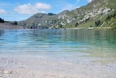 Lago Fedaia Imagens de Stock