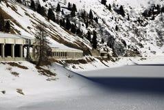 Lago Fedaia, Dolomites, Val di Fassa Stock Images
